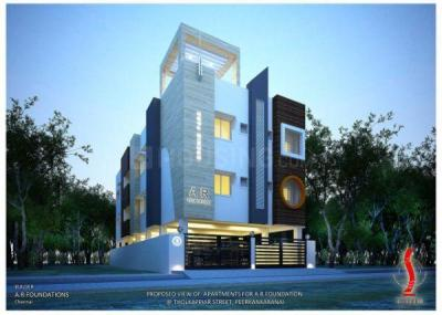 Gallery Cover Image of 570 Sq.ft 1 BHK Apartment for buy in Perungalathur for 2678430