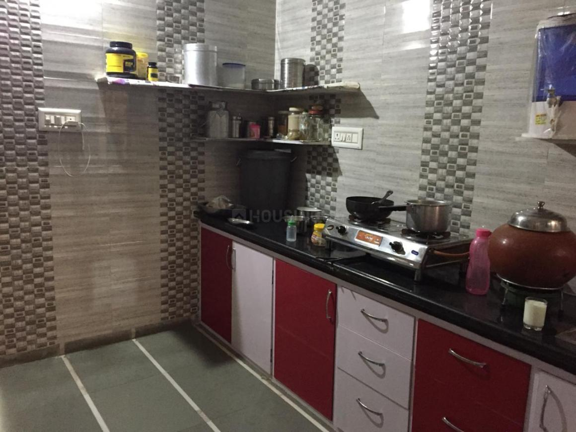 Kitchen Image of 110 Sq.ft 2 BHK Independent House for buy in Chandkheda for 5600000