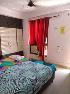 Bedroom Image of Paradise Girl's PG in Dwarka Mor