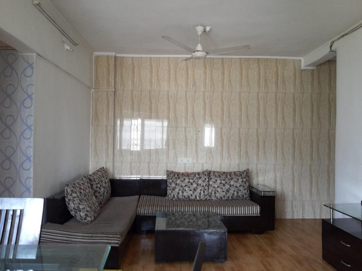 Living Room Image of 840 Sq.ft 2 BHK Apartment for rent in Thane West for 22000