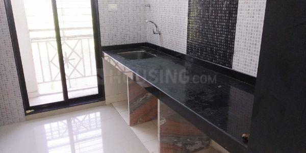 Kitchen Image of 910 Sq.ft 2 BHK Apartment for rent in Taloje for 8000