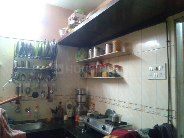 Kitchen Image of 445 Sq.ft 1 BHK Independent House for buy in Dahisar East for 9700000