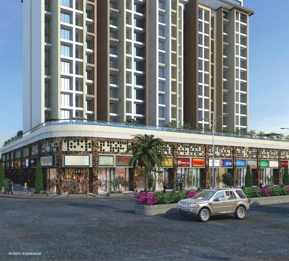 Building Image of 500 Sq.ft 1 BHK Apartment for buy in New Panvel East for 5000000