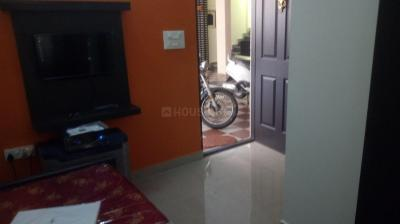 Gallery Cover Image of 451 Sq.ft 1 RK Independent Floor for rent in Murugeshpalya for 8500