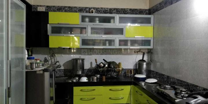 Kitchen Image of 1400 Sq.ft 3 BHK Apartment for rent in Ghorpadi for 28000