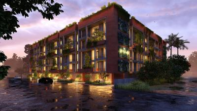 Gallery Cover Image of 1256 Sq.ft 2 BHK Apartment for buy in Speckles Patio, Visthar for 7784000