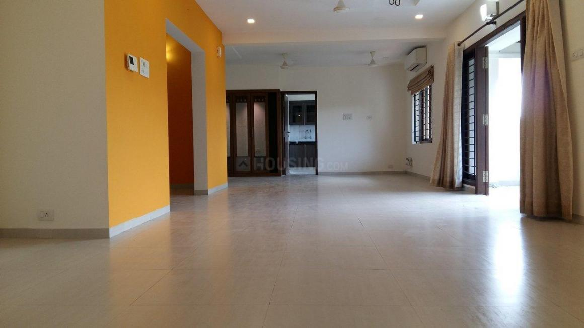 Living Room Image of 3000 Sq.ft 3 BHK Apartment for rent in Besant Nagar for 75000