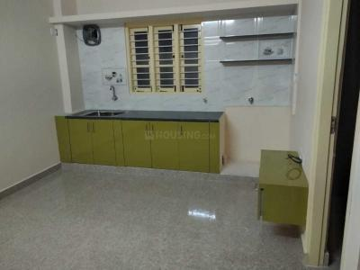 Kitchen Image of 400 Sq.ft 1 BHK Independent House for rent in Horamavu for 10000