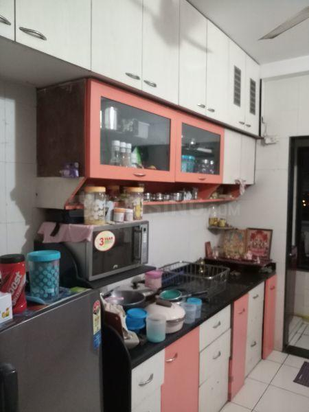 Kitchen Image of 1150 Sq.ft 2 BHK Apartment for rent in Belapur CBD for 32000