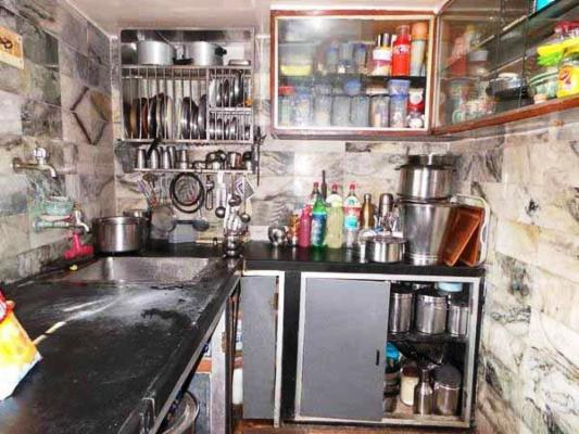 Kitchen Image of 1100 Sq.ft 2 BHK Independent Floor for rent in Fort for 50000