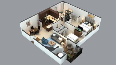 Gallery Cover Image of 1100 Sq.ft 2 BHK Apartment for buy in BTM Layout for 4500000