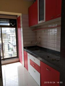 Gallery Cover Image of 710 Sq.ft 1 BHK Apartment for rent in Airoli for 20000
