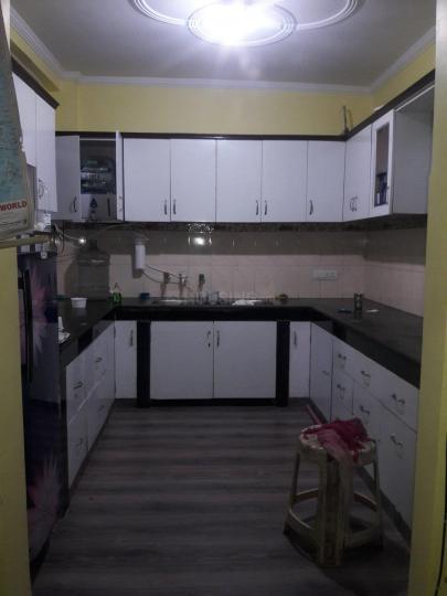 कालकाजी में ग्लोबल पीजी में किचन की तस्वीर