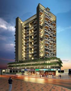 Gallery Cover Image of 1351 Sq.ft 3 BHK Apartment for buy in Tricity Panache, Seawoods for 18100000