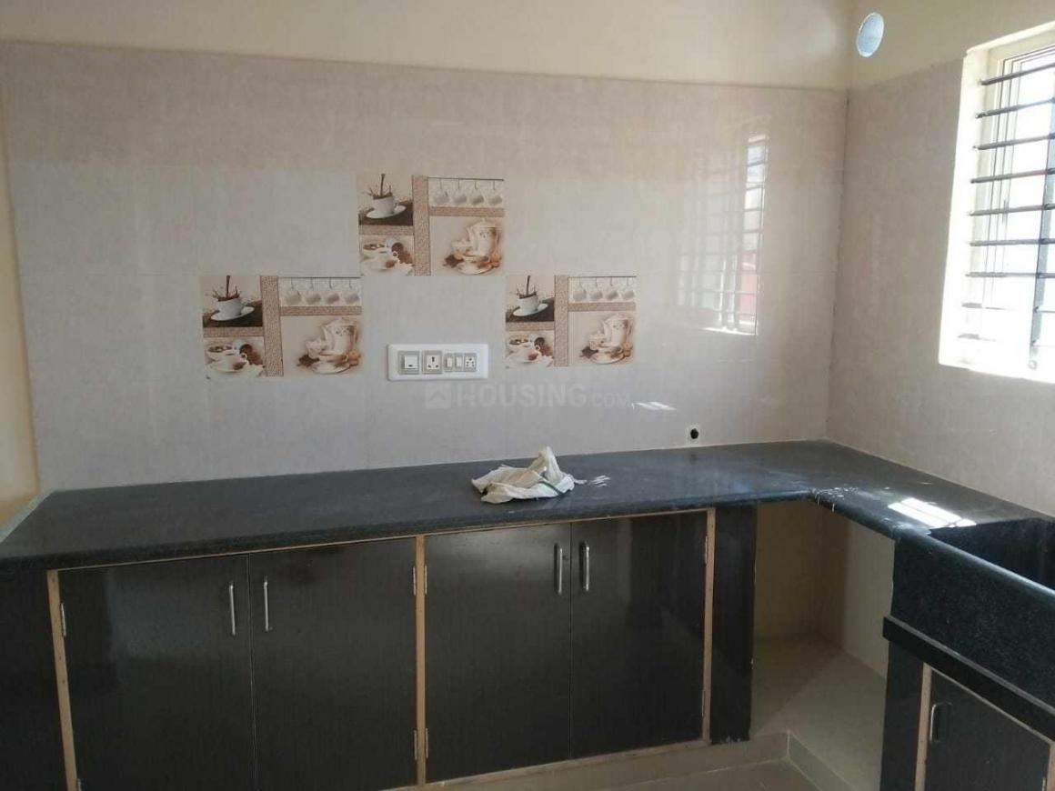Kitchen Image of 700 Sq.ft 1 BHK Independent Floor for rent in HSR Layout for 18000