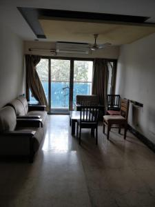 Gallery Cover Image of 1250 Sq.ft 3 BHK Apartment for rent in RNA Azzure, Bandra East for 80000