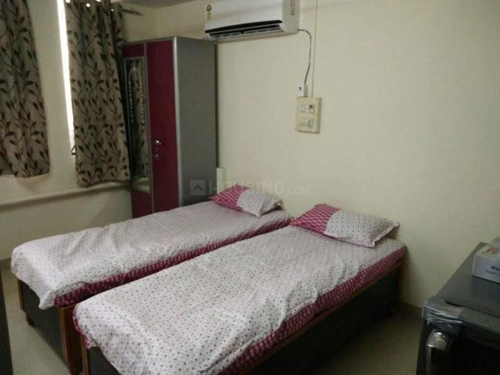पालम विहार में घनसोली पीजी के बेडरूम की तस्वीर