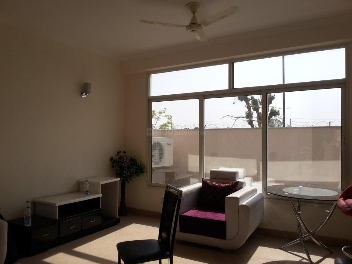 Living Room Image of 1000 Sq.ft 3 BHK Villa for rent in Omicron I Greater Noida for 20000