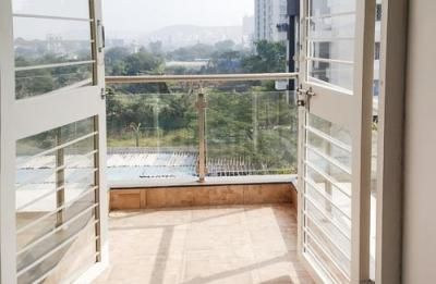 Balcony Image of Royal Hills Flat No 302 in Bavdhan