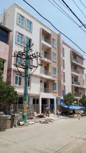 Gallery Cover Image of 650 Sq.ft 1 BHK Apartment for rent in Thanisandra Main Road for 16500
