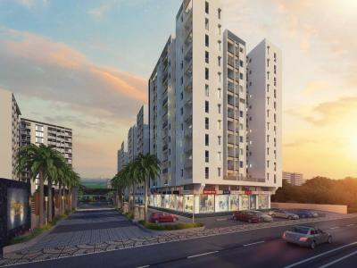 Gallery Cover Image of 996 Sq.ft 2 BHK Apartment for buy in Dhanori for 4900000