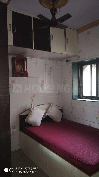 Bedroom Image of 450 Sq.ft 1 BHK Apartment for rent in Kalwa for 15000