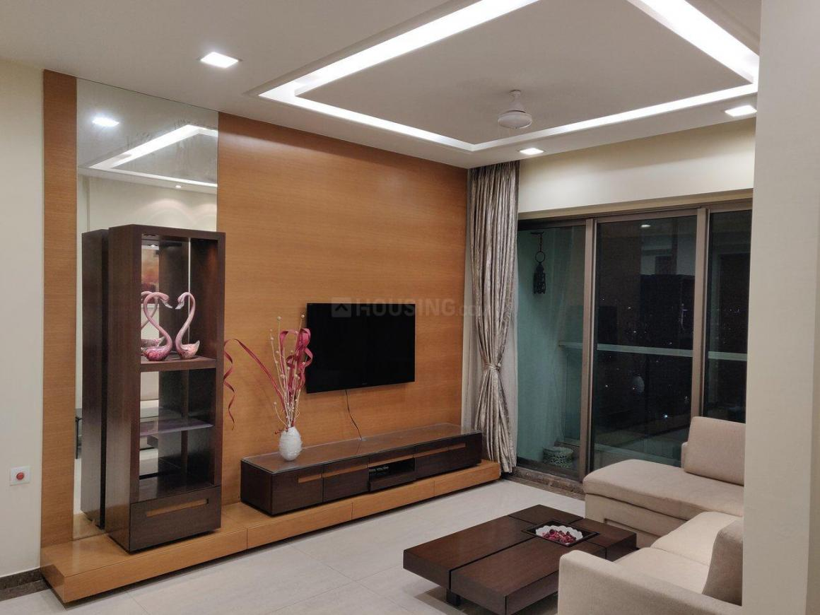 Living Room Image of 1250 Sq.ft 3 BHK Apartment for rent in Kandivali East for 50000