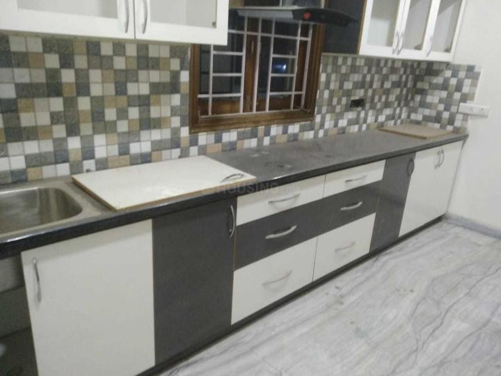 Kitchen Image of 1000 Sq.ft 3 BHK Apartment for rent in Banjara Hills for 60000