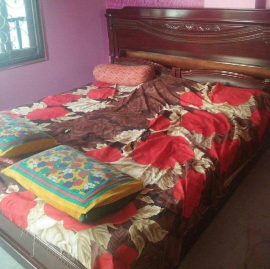हब्सिगुड़ा में अंजलि वूमेन पीजी के बेडरूम की तस्वीर