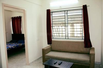 Gallery Cover Image of 800 Sq.ft 2 BHK Apartment for rent in Domlur Layout for 32000