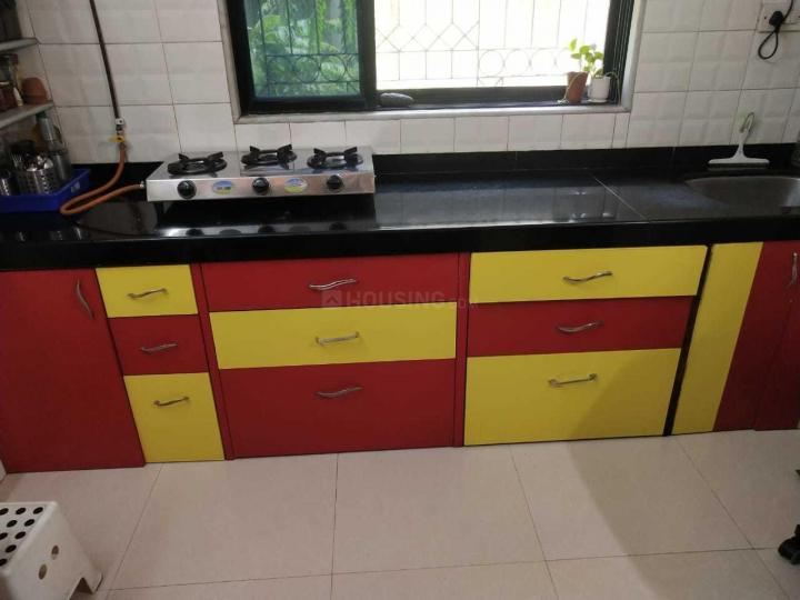 Kitchen Image of 1100 Sq.ft 2 BHK Apartment for rent in Vashi for 35600