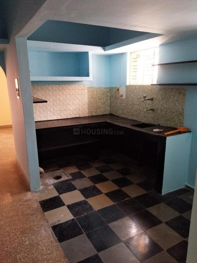 Kitchen Image of 1000 Sq.ft 3 BHK Independent Floor for rent in Chikkalasandra for 14000