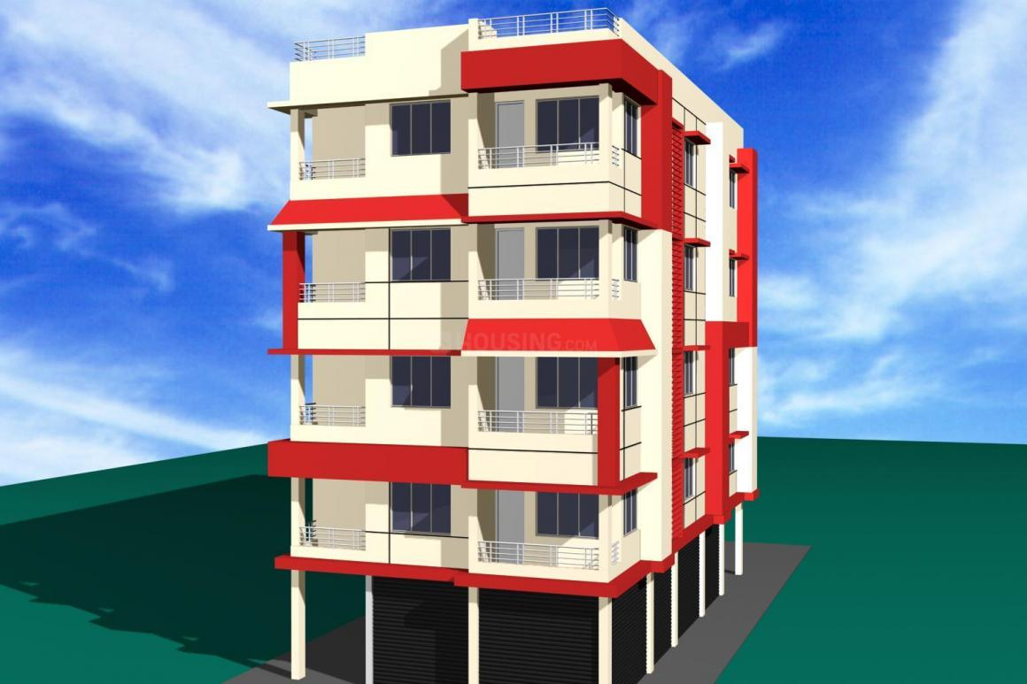 Building Image of 1342 Sq.ft 3 BHK Independent Floor for rent in Rajarhat for 13500