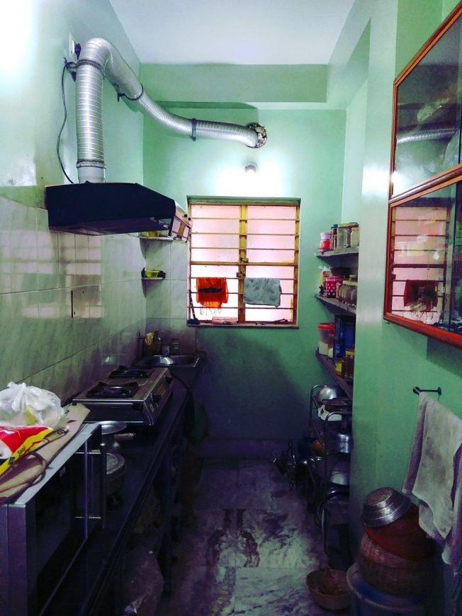 Kitchen Image of 700 Sq.ft 2 BHK Independent Floor for rent in Andul for 6000