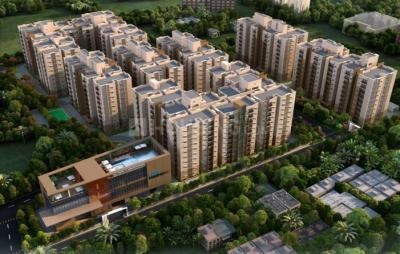 Gallery Cover Image of 1390 Sq.ft 3 BHK Apartment for buy in Ramky One Harmony, Pragathi Nagar for 7921610