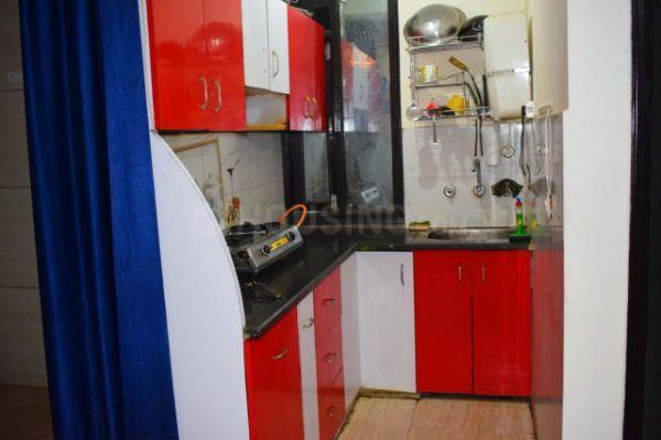 बिंदपुर में जस्ट फॉर बैचलर फ्लैटमेट. के किचन की तस्वीर
