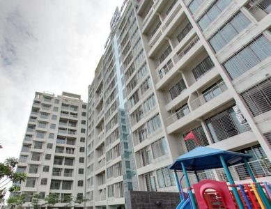 Gallery Cover Image of 1050 Sq.ft 2 BHK Apartment for rent in Nerul for 38000