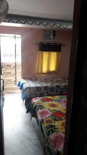 रमेश नगर में एवर ग्रीन पीजी के बेडरूम की तस्वीर