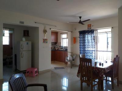 Gallery Cover Image of 1522 Sq.ft 3 BHK Apartment for rent in Confident Aquila, Kada Agrahara for 15000