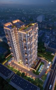 Gallery Cover Image of 2360 Sq.ft 4 BHK Apartment for buy in The Rise, Maniktala for 15340000