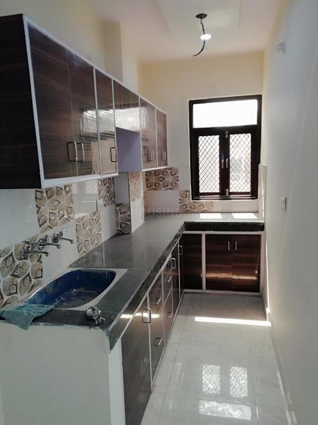 Kitchen Image of 400 Sq.ft 1 BHK Independent Floor for rent in Matiala for 7500