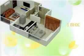 Gallery Cover Image of 650 Sq.ft 1 BHK Apartment for buy in Shree Krishna Daffodil Heights, Bhandup West for 7400000