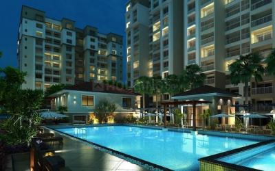 Gallery Cover Image of 1367 Sq.ft 2 BHK Apartment for buy in Sobha Meritta, Pudupakkam for 6000000