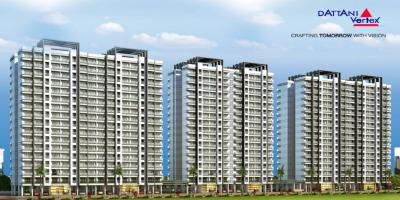 Gallery Cover Image of 1151 Sq.ft 2 BHK Apartment for buy in Dattani Vertex Wing CD Phase III, Vasai West for 7050000