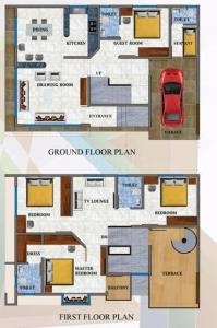 Gallery Cover Image of 2000 Sq.ft 4 BHK Villa for buy in Bagharbari for 13000000