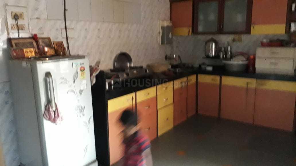 Kitchen Image of 1050 Sq.ft 2 BHK Apartment for rent in Kopar Khairane for 20000