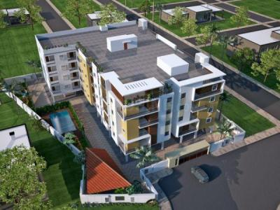 Gallery Cover Image of 975 Sq.ft 2 BHK Apartment for buy in Purnima Palm Grove, HSR Layout for 4600000