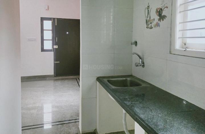 Kitchen Image of 850 Sq.ft 2 BHK Independent House for rent in Devarachikkana Halli for 14000