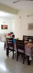 Gallery Cover Image of 2150 Sq.ft 3 BHK Apartment for rent in Lancor The Atrium, Thiruvanmiyur for 60000