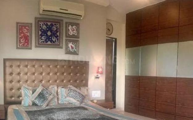 Bedroom Image of 1250 Sq.ft 3 BHK Apartment for rent in Mulund West for 48000